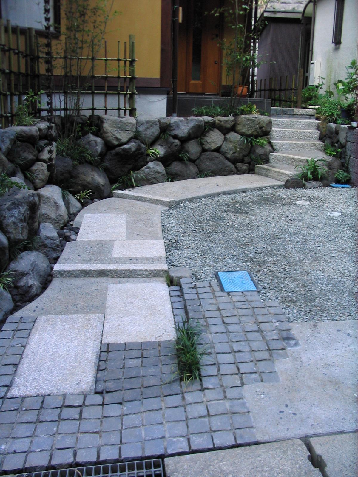 生コンクリート洗い出しのアプローチ
