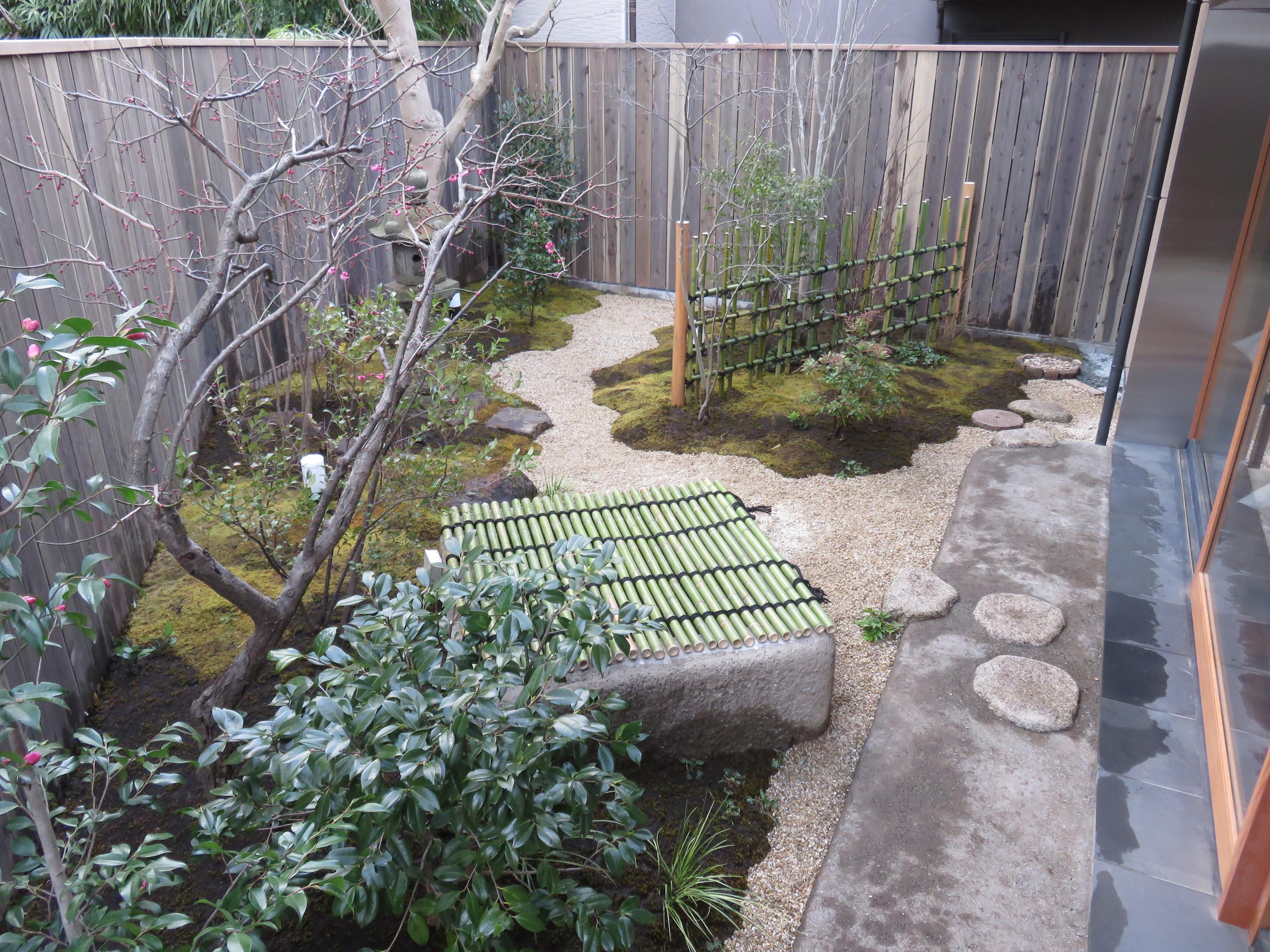 鎌倉の名店のお庭