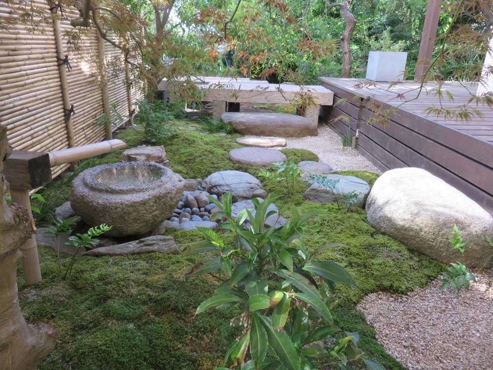 鎌倉 桜の庭 坪庭