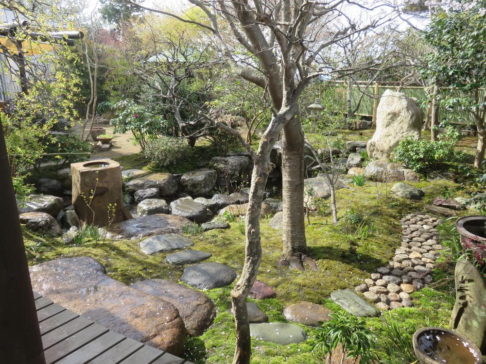鎌倉 桜の庭 主庭